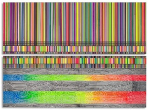 untitled (full spectrum) by beverly fishman