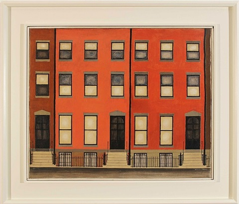 portrait of joralemon street by miklos suba