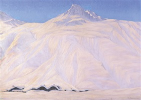 winterlandschaft davos by philipp bauknecht