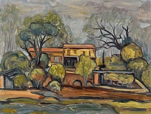 vue de village by michel adlen
