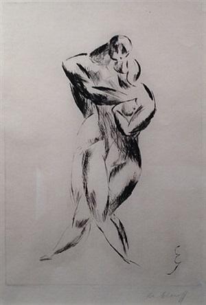 dancers by elie nadelman