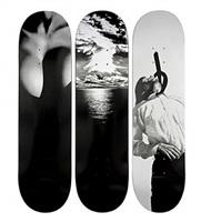 skateboards (set of 3) by robert longo