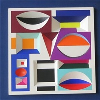 forme couleur relief by yaacov agam