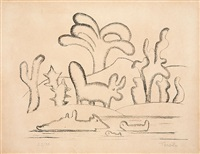paisagem antropofágica by tarsila do amaral