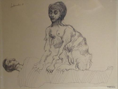 sphinx and mummy by jan lebenstein