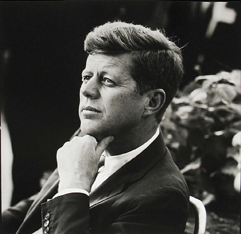 john f. kennedy, first unofficial campaign trip by jacques lowe