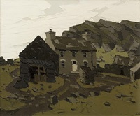 pembrokeshire cottage by sir kyffin williams