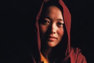 ani (katok monastery, kham) by frédéric lemalet
