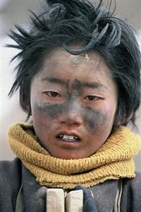 young pilgrim (sok, u-tsang) by frédéric lemalet
