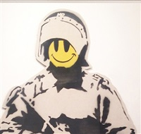 smiling coppers by banksy