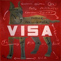 visa-terrier by wang guangyi