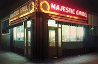 majestic grill #5 by robert gniewek