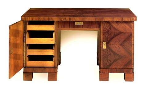 biedermeier knee-hole desk