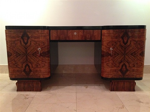 french art deco desk