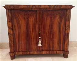 biedermeier cabinet chest
