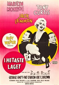 some like it hot (united artists, 1959) by gosta aberg