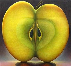 apple series #1 by dennis wojtkiewicz