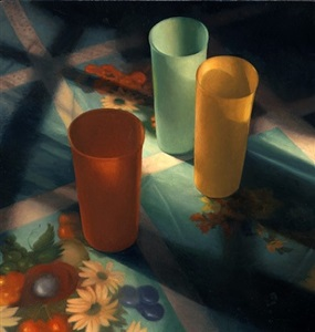cups in sunlight by scott prior