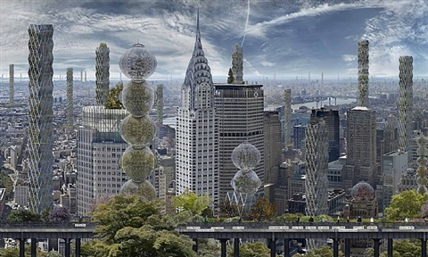 manhattan farms by jean-francois rauzier