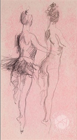 dancer- fouette by donald hamilton fraser
