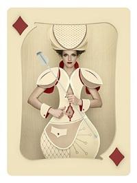 carte, regina di quadri by christian tagliavini