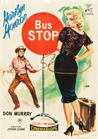 bus stop (20th century fox, 1956) by jano (francisco f. zarza)