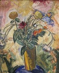 floral still life by alfred henry maurer