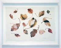 leaves study vi by jonathan yeo