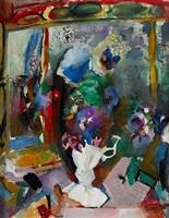 flowers (abstract still life) by arthur beecher carles