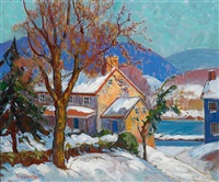 winter sunlight by fern isabel coppedge