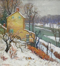 winter gold by fern isabel coppedge