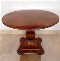 biedermeier center table