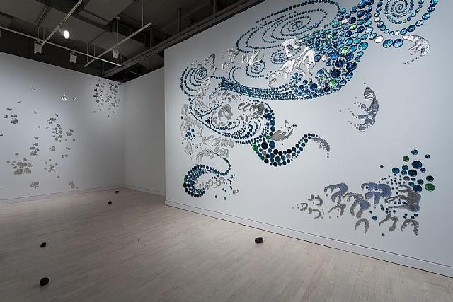 installation view, 2013, works by rob wynne by rob wynne