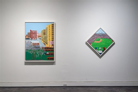 installation view, 2013, works by sarah mceneaney by sarah mceneaney