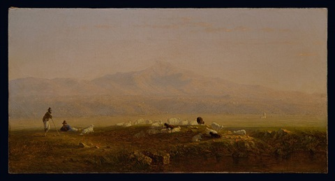 the roman campagna by sanford robinson gifford