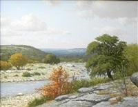 autumn landscape by porfirio salinas