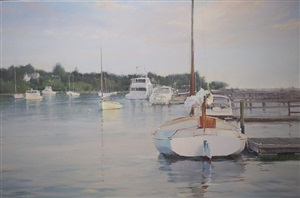 harbor in connecticut (sold) by karen blackwood