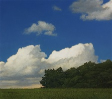 summer clouds (sold) by peter bergeron