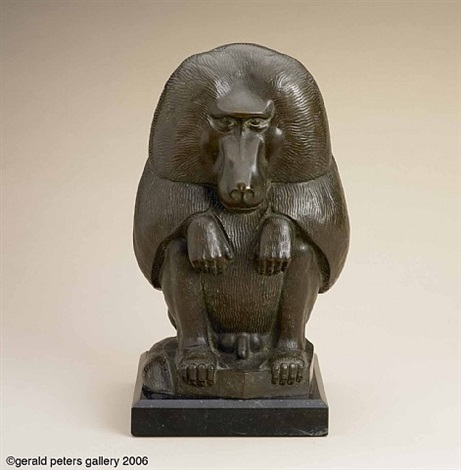 baboon by paul howard manship