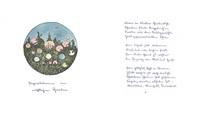 papierlaternen im nächtlichen garten / paper lanterns in the nightly garden by hermann hesse