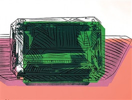 gems, emerald by andy warhol