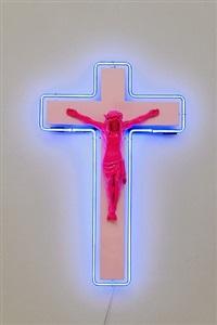 kruzifix 11 by stefan strumbel
