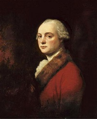 portrait of john kenwich, jr. by george romney