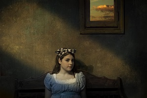 girl under window by jack spencer