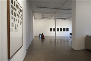 exhibition view by eric baudelaire