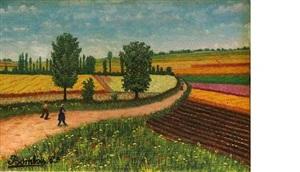 les champs entre locher et amboise by camille bombois