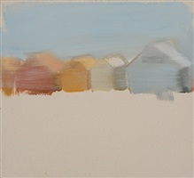 beach huts by gideon rubin