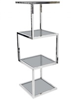 sculptural tower etagere by milo baughman