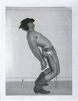 untitled (cowboy) / p00103 by jim french