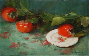 persimmons by kathy anderson